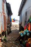 Village de gitan de mer Image libre de droits
