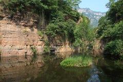 Village de Guoliang dans la province de henan de la Chine Image stock