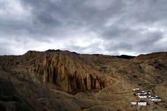 Village de haute montagne Images libres de droits