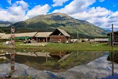 Village de Hemu photos stock