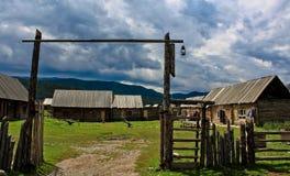 Village de Hemu photographie stock libre de droits