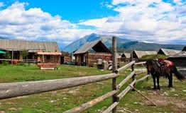 Village de Hemu image stock
