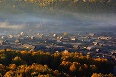Village de Hemu Images libres de droits
