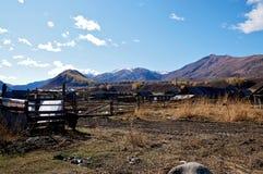 Village de Hemu Image libre de droits