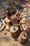 Village de Himba en Namibie Photo stock