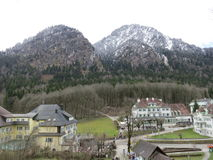 Village de Hoheschwangau Photo stock