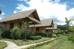 Village de jardin de hutte Image libre de droits