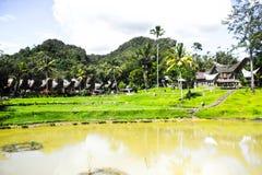 Village de Kete Kesu photo libre de droits