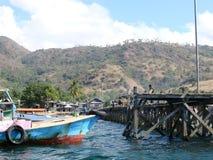 Village de Komodo image libre de droits