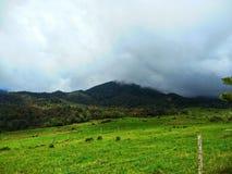 Village de Kundasang, Sabah, Malaisie image libre de droits