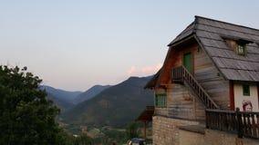 Village de Kusturica Image libre de droits