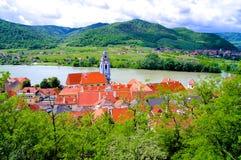 Village de l'Autriche Wachau photographie stock libre de droits