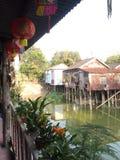 Village de l'eau image stock