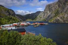 village de l'Espagne de pêche des Asturies cudillero Photographie stock libre de droits