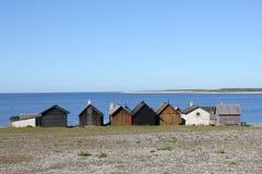 village de l'Espagne de pêche des Asturies cudillero Image libre de droits
