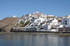 village de l'Espagne de playitas de las de fuerteventura images stock