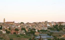 village de la Ligurie Photos libres de droits