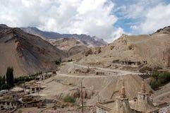 Village de Lamayuru Image stock