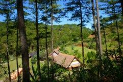 Village de LAN de Cu, tourisme d'eco de Dalat photographie stock