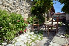 Village de Lania - Chypre Photographie stock libre de droits