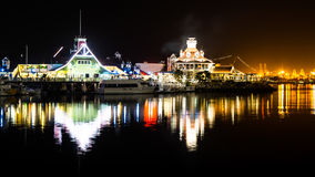 Village de Long Beach Shoreline Photo libre de droits