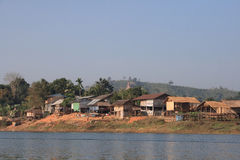 village de lundi photo stock