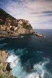 Village de Manarola en Italie image libre de droits