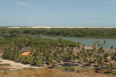 Village de Mandacaru photos stock