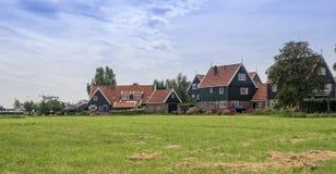 Village de Marken Image libre de droits