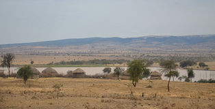 Village 3 de masai Photo stock