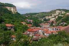 Village de Medival Images stock