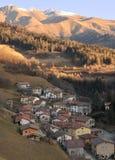 Village de Memmo à l'aube Photos libres de droits