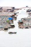 Village de mer Image libre de droits