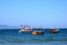 Village de mer Photo stock
