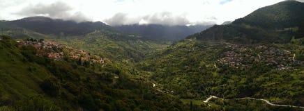 Village de Metsovo en Grèce photographie stock libre de droits