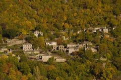 Village de Mikro (petit) Papigo Image libre de droits