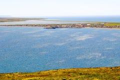 Village de Miquelon Photo stock