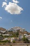 Village de Mojacar au soleil, Espagne Images stock