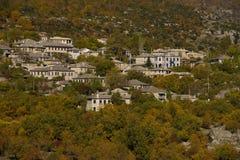 Village de Monodendri Image stock