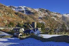 Village de montagne Photo libre de droits