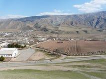 Village de montagne Photo stock