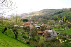 Village de montagne Photos libres de droits