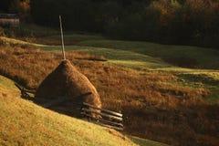 Village de montagne Photographie stock libre de droits
