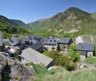 Village de montagne catalan Boi Images stock