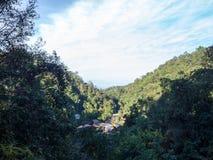 Village de montagne, Thaïlande Photo stock