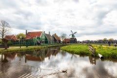 village de musée à Zaandam Les Pays-Bas Image stock