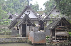 Village de Naga de Kampung Photographie stock