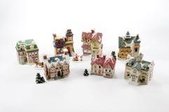 Village de Noël image stock