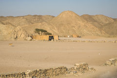 Village de nomade Photo stock