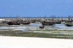 Village de pêche à Zanzibar Photos libres de droits